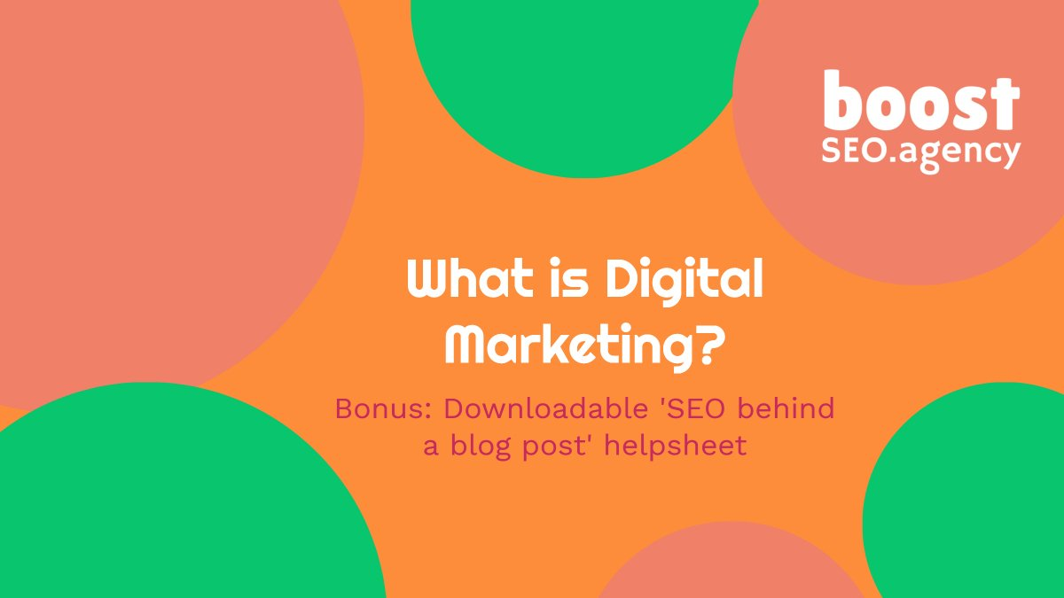 What is Digital Marketing - Twitter Photo